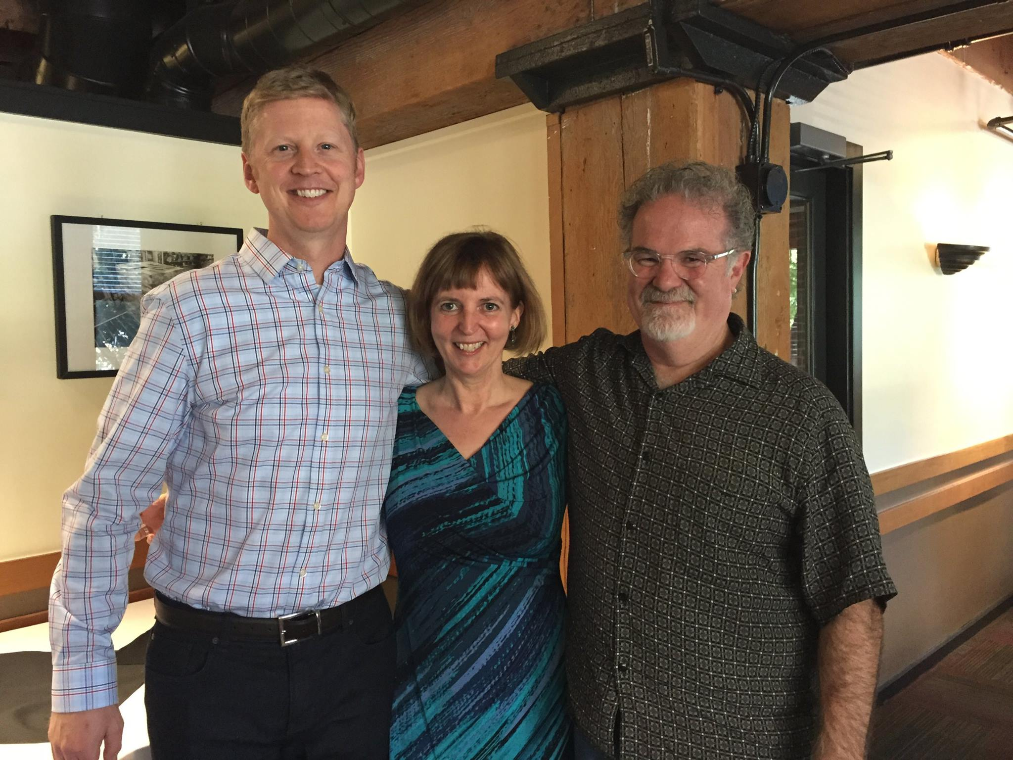 Current ECOSS Executive Director with the two former EDs
